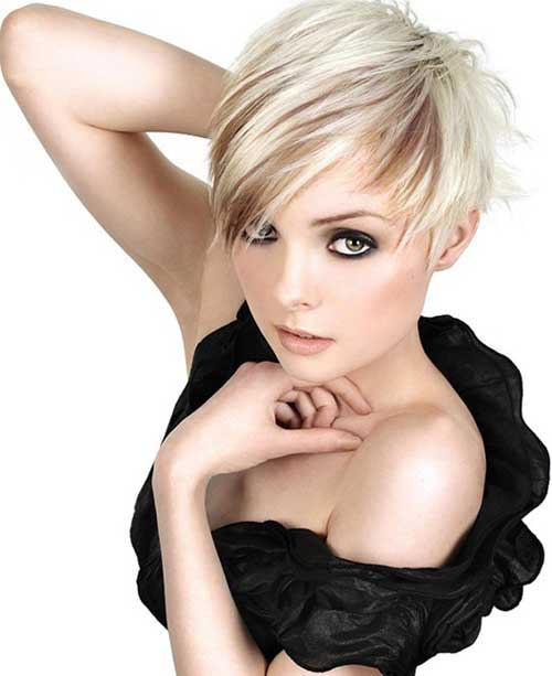 Cute short haircut pictures women 2013