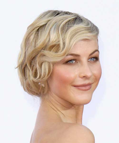Formal hairstyles for short wavy hair