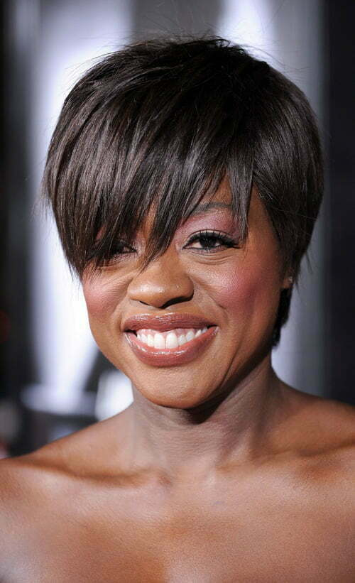 Superb Very Short Haircuts With Bangs For Women Short Hairstyles 2016 Short Hairstyles For Black Women Fulllsitofus