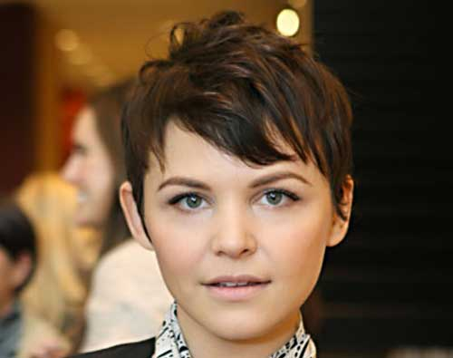 Ginnifer Goodwin Short Haircut Pictures