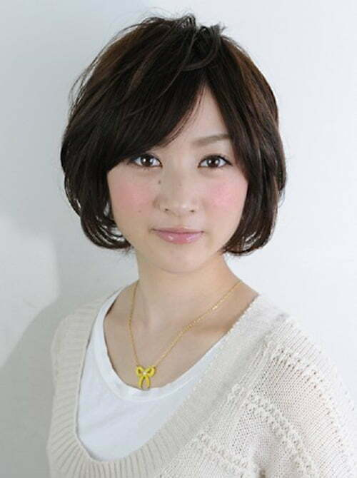Short japanese hairstyles for women 2013