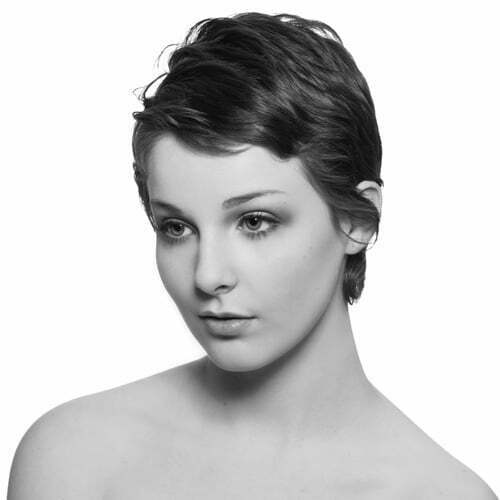Cute short cropped haircuts for women