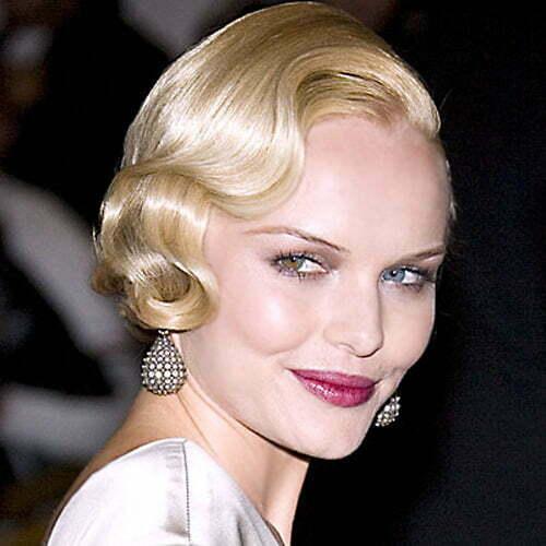 Trendy short haircut for women over 40