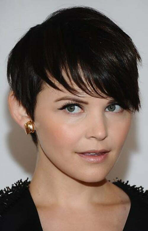 Short haircuts with long bangs, may sound a bit different but looks
