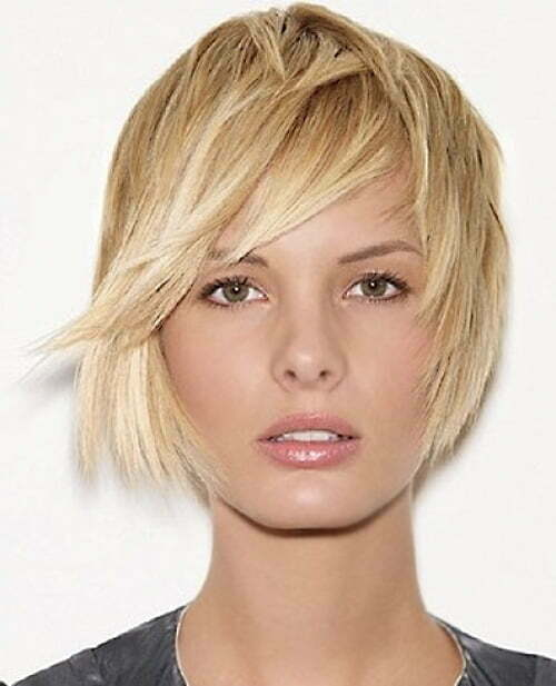 Trendy short haircuts for thin hair