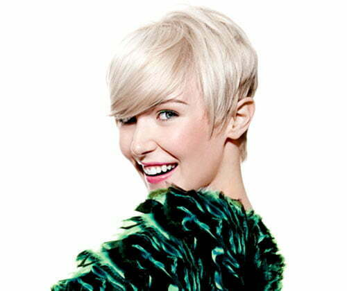 Cute short haircuts for summer 2012