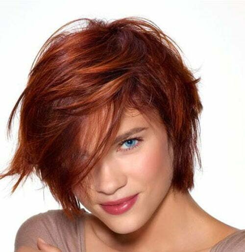 Short Hair Color Trends 2014