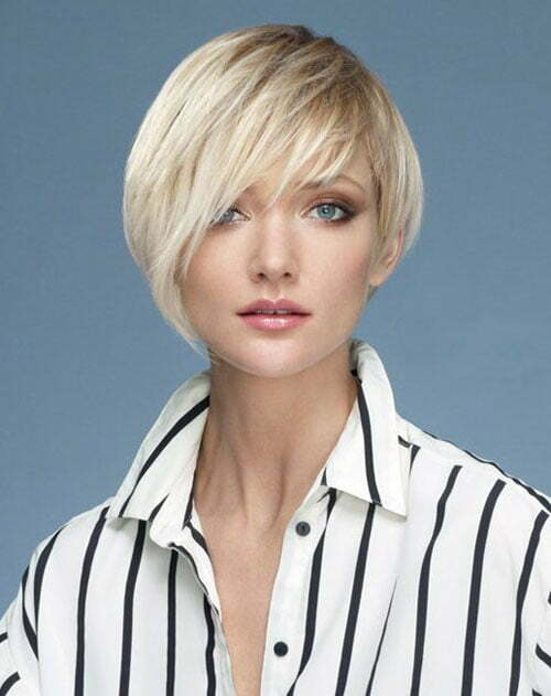 Very short asymmetrical haircuts for women
