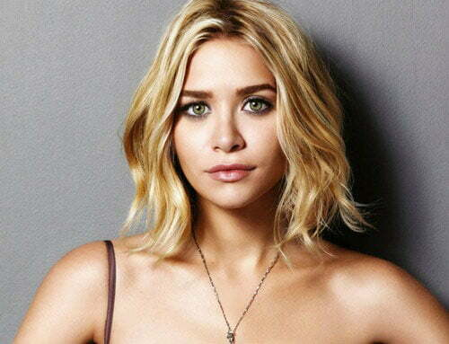 Ashley Olsen wavy hair photos