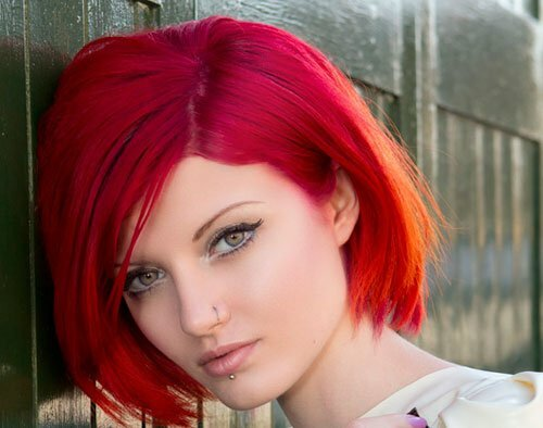25 Short Hair Color Trends 2012