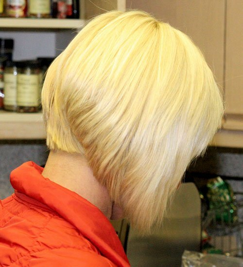 Short blonde bob haircuts photos
