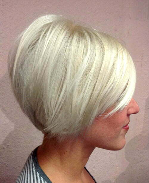 Pictures of short blonde hairstyles