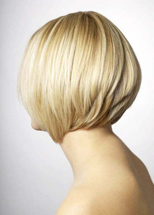 Short blonde bob hairstyles 2013