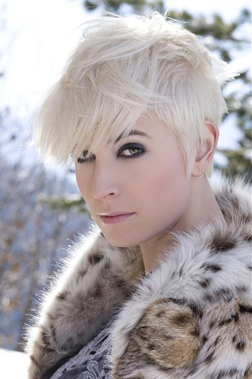 Blonde short hair pictures