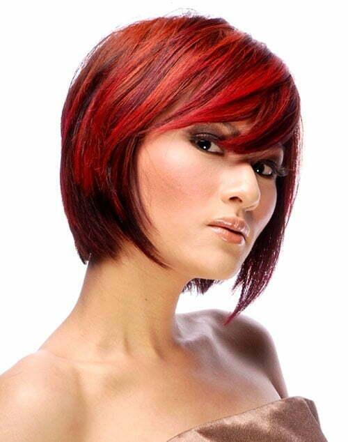 Bold hair color ideas for short hair