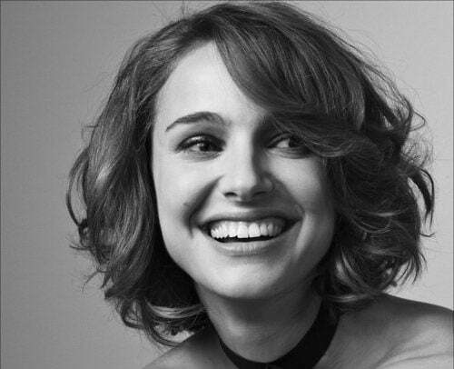 Natalie Portman short hair picture