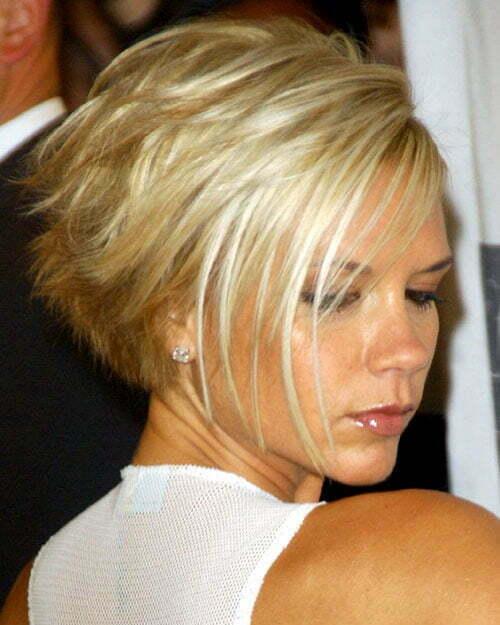 Victoria Beckham Short Hair Images