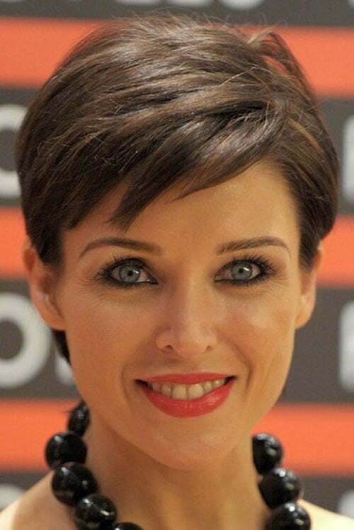 Dannii Minogue Short Pixie Hairstyle