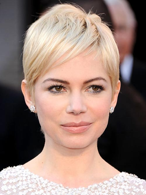 Short blonde hairstyles Michelle Williams