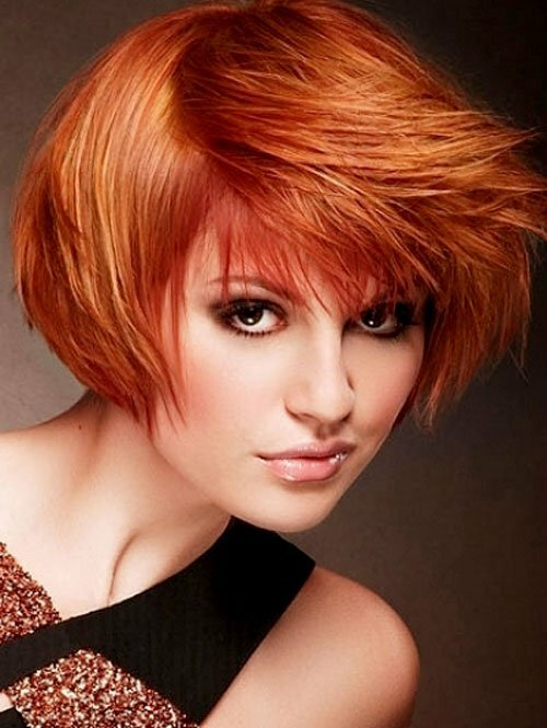 Copper red hair color pictures