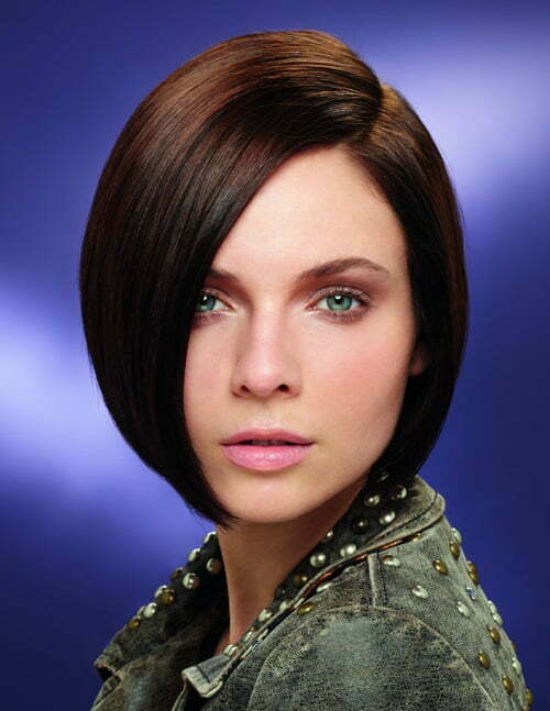 Straight bob cut hairstyle pictures