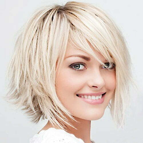 Choppy Hair Is Essentially A More Modern Edgy Take On The Traditional Bob Ends However Are Cut Irregularly This Provides Fine With Some Very