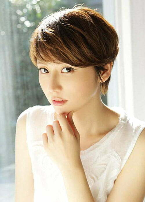 Traditional Japanese Hairstyles For Short Hair : ... Short Hairstyles 2016 - 2017 Most Popular Short Hairstyles for 2017