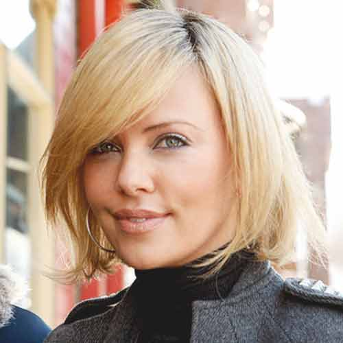 Cute short blonde celebrity haircut