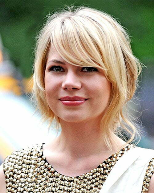Michelle Williams cute short hairstyle