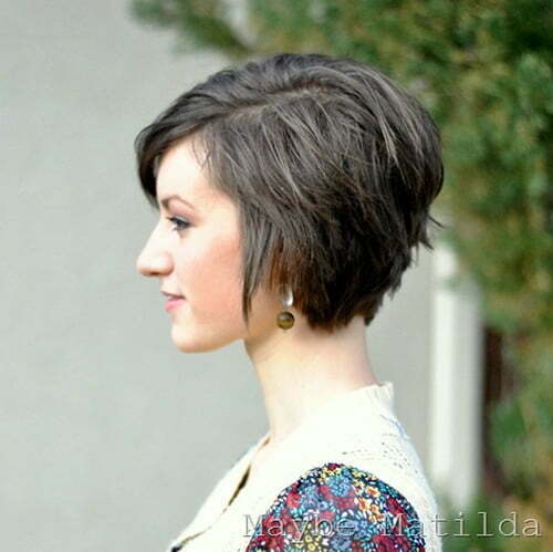 Model  Short Haircut And This Is A Good Example For Cute Short Haircuts For