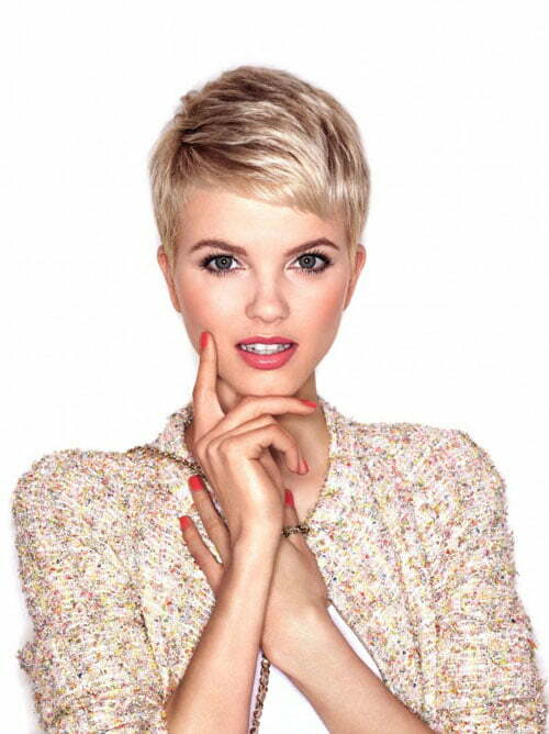 Super short pixie hairstyles for women