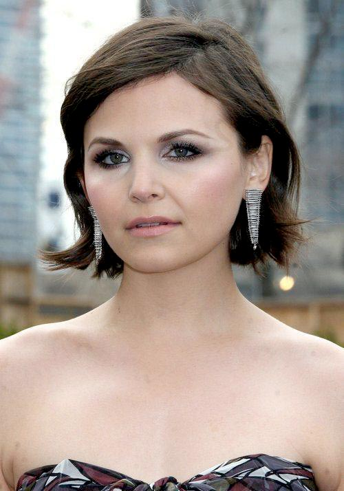 Ginnifer Goodwin double chin hairstyles