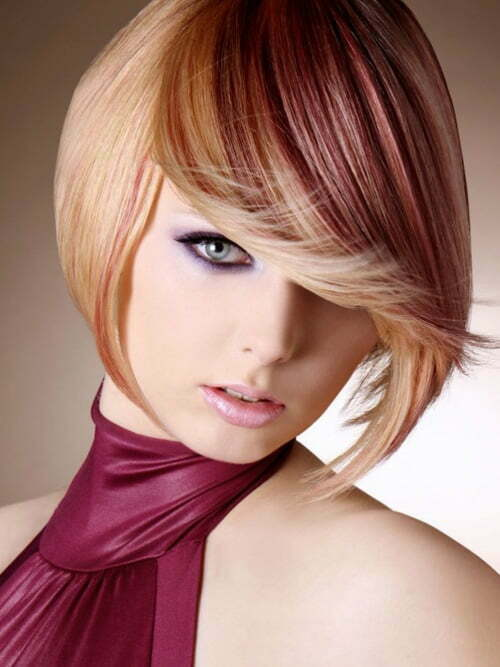 hair color and hair cut styles