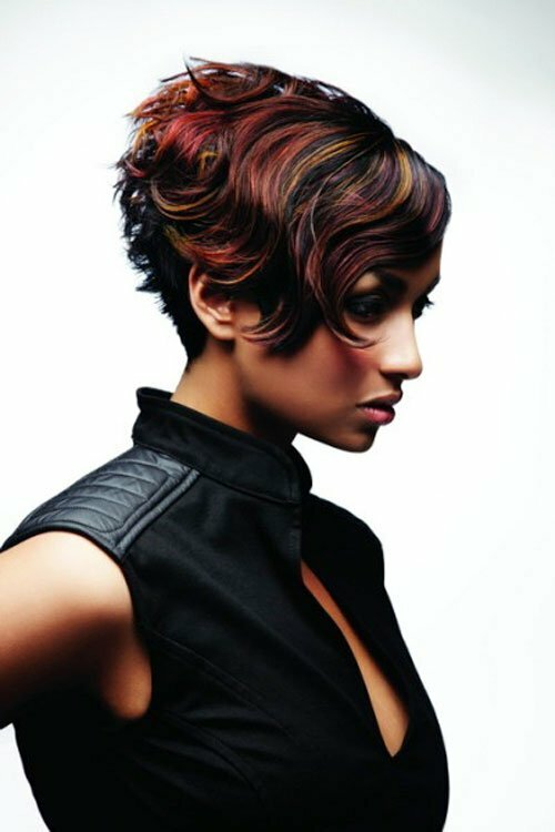 25 Short Hair Color Trends 2012 2013