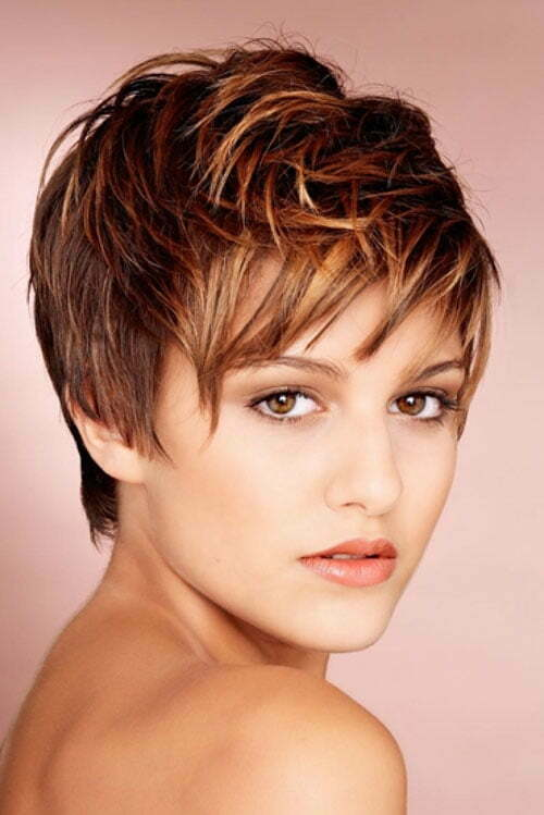 Color Short Hair Cuts