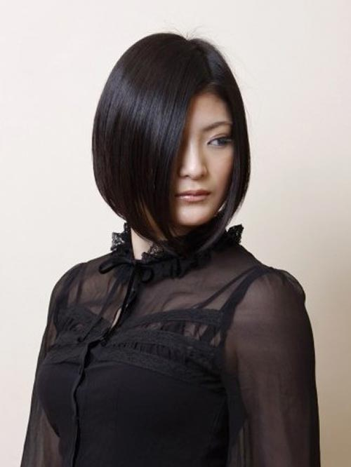 Japanese short hairstyles for women 2013