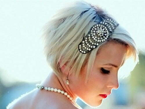 Latest short wedding hairstyles 2013