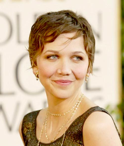 Maggie Gyllenhaal short hair photos