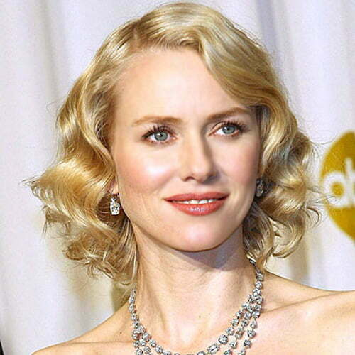 Naomi Watts short curly haircut photo