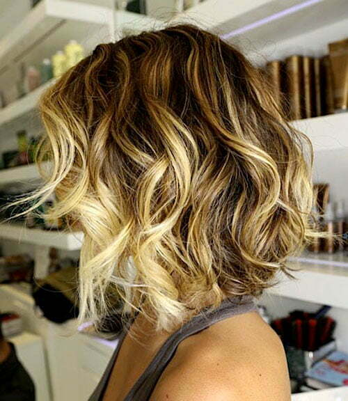 Ombre hair colour trends 2012