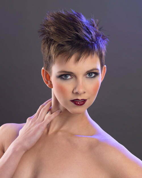 Very Short Pixie Haircuts Women