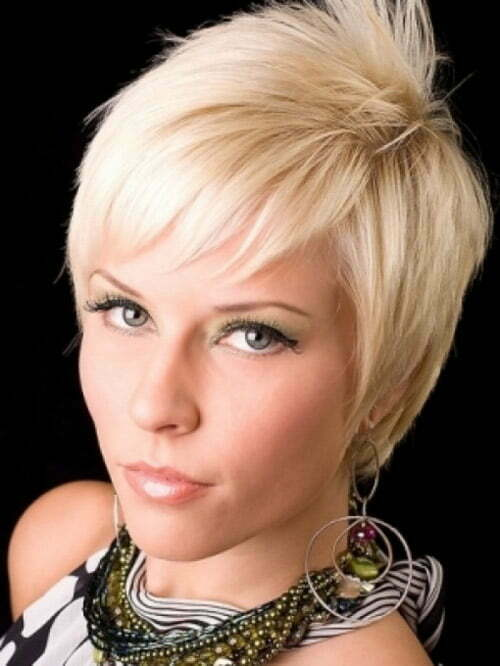 Pictures trendy short hairstyles