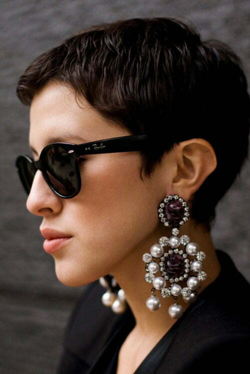 Trendy short pixie haircuts 2013