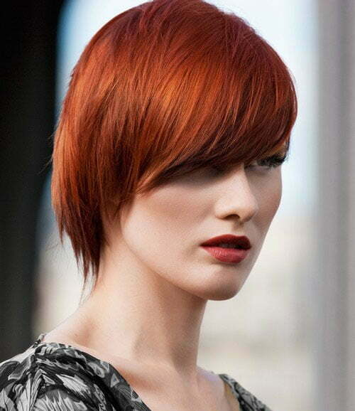 Red hair color for fall 2013
