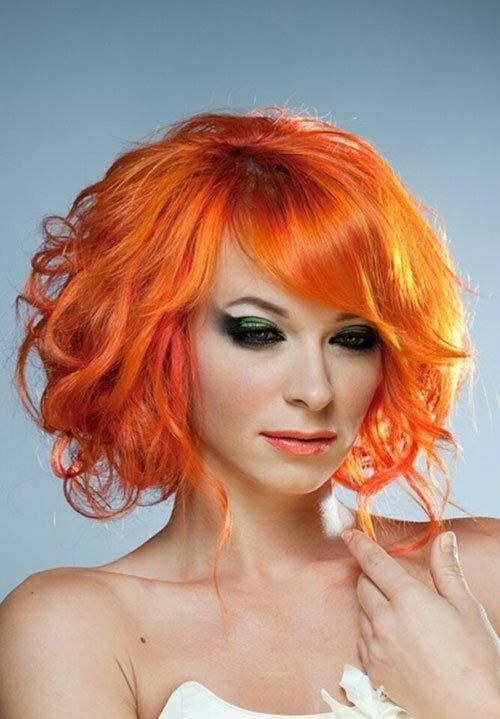 Red-Orange Hair Color