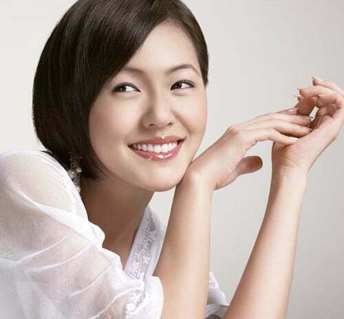 Cute Asian short bob hairstyles