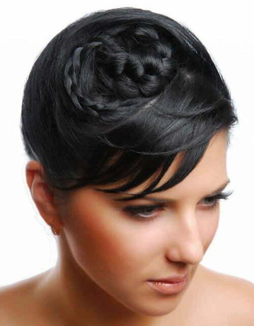 Superb Wedding Hairstyles For Short Hair 2012 2013 Short Hairstyles Hairstyles For Women Draintrainus