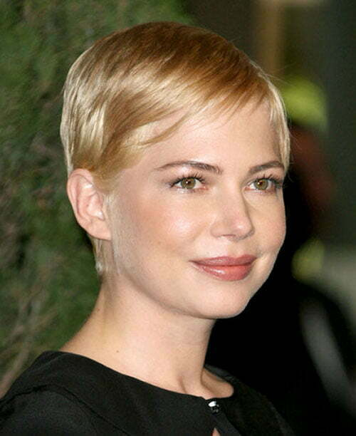 Michelle williams short blonde hair