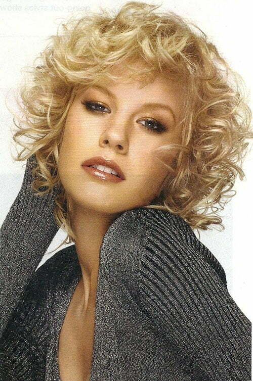 Womens Hairstyles For Short Length Curly Hair - Short Curly Hair