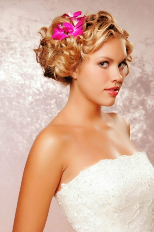 20 short wedding hair ideas short hairstyles 2016 2017 most bridesmaid hairstyles for short hair pictures junglespirit Gallery